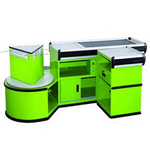 Wholesale Checkout Counters: Luxury Style Electrical Checkout Counter with Belt CE Certificated