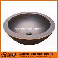 Wholesale Other Bathroom Furniture: Commercial Flat Edge Copper Counter Top Basin