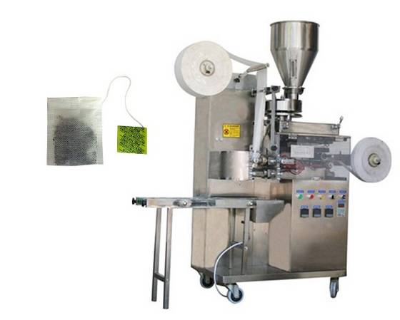 Sell tea pack machine with string and tag