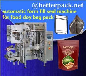 Wholesale candy packing bag: Doy Bag Machine, Doy Bag Packaging Doypack Making Packaging Machine