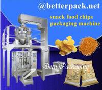 Chips Packing Snack Food Packaging Machine