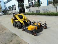 JL300skid Ster Loader with Lawn Mower