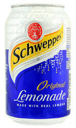 Wholesale drink: Chweppes - Lemonade - Drinks Mixer 24x 330ml Cans