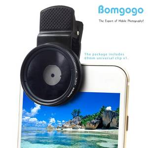 Wholesale cell phone: Bomgogo 37mm CPL Filter Lens, Professional Cell Phone Camera Circular Polarizer Lens Kit
