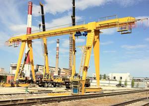 Wholesale crane rail: Rail Mounted Gantry Crane