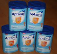 Milupa Aptamil and Nutrilon Baby Milk Powder