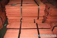 Sell High Purity Copper Cathode, 999.999%