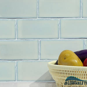 Wholesale border mosaic: Small Size 73X150mm Kitchen Wall Tile White Mosaic Design
