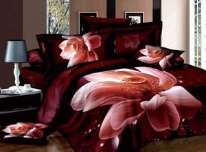Wholesale cotton bedding comforter sets: China Comforter Sets Luxury Cotton 3D Bedding Set