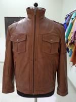 Men Sheep Leather Jacket