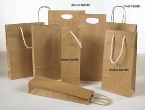 Wholesale wine trolley: Paper Bags
