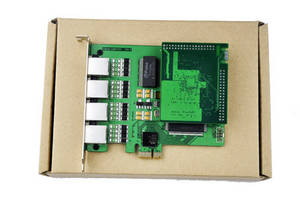 Wholesale cisco voip: 4ports Asterisk E1 Pri Card with VPMOCT128,PRI To Sip,Voip PRI Gateway