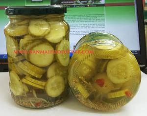 Wholesale Canned Vegetables: Pickled Sliced Cucumber