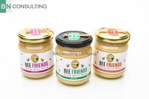 Wholesale packing box: Russian Organic Honey