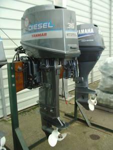 Wholesale baths: Used Yanmar D36 Diesel Outboard Engine