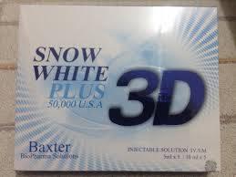 Wholesale skin care: 3D Snow White Plus 50000 (Usa)
