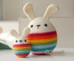 Wholesale handmade: Big Soft Wool Handmade Easter Eggs, Hand Knitted Crochet Toys / Gifts Easter Decoration, Plush Toys
