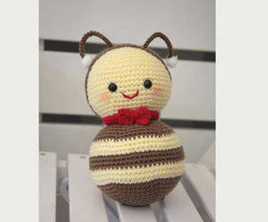 Wholesale gift: Bee - Soft Wool Handmade Plush Toys, Hand Knitted Crochet Toys Gifts for Children