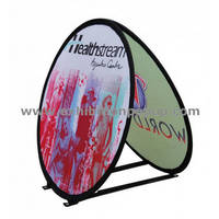 Sell round pop up banner
