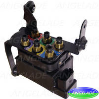 Porsche Panamera 2010-2015 Air Supply Solenoid Valve Block Air Ride Control Valve 97035815302 5