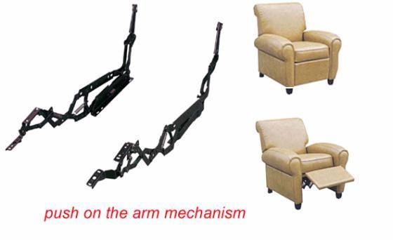 how to fix a recliner chair mechanism