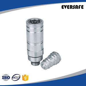 Wholesale Manufacturing & Processing Machinery Stock: Carbon Steel Push and Pull Type Hydraulic Quick Connect Couplings