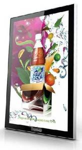 Wholesale ad display: Wall-mounted Vertical AD Display