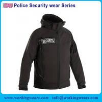 Wholesale Custom Design Softshell Police Security Jacket