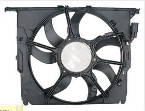 Wholesale auto radiator: For BMW F10 F18 Auto Electric Motor Radiator Cooling Fan