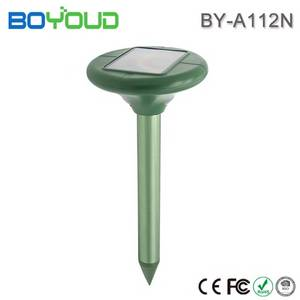 Wholesale solar light: Solar Powered Repeller Flash Light Pest Reject Mole Repeller Solar Powered Repel Mole