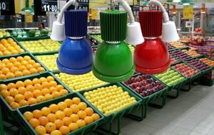 Wholesale fresh fruit: LED Lamp LED Fresh Light for Fruit Supermarket Mall Light Vegetables Meals Lamp Lighting