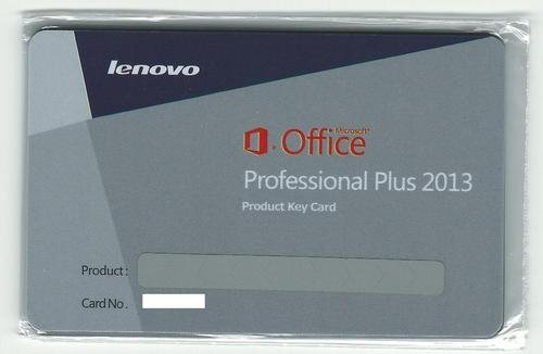 Office 2013 pro plus lenovo product key card from good software co ltd china - Office professional plus 2013 key ...