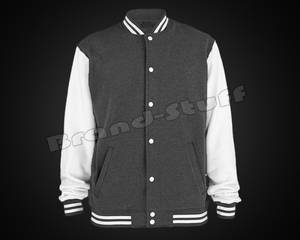 Wholesale chenille patches: Brand New Custom Cotton Fleece Varsity Jacket
