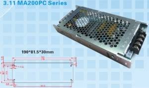 Wholesale pc power: Rong Electric MA200PC LED Display Power Supply