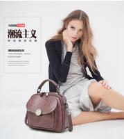 Genuine Leather Shoulder Bags Fashion Handbag 4