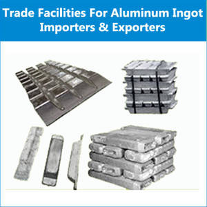 Wholesale ingots: Get Trade Finance Facilities for Aluminum Ingots Importers & Exporters
