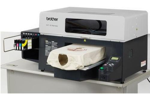 Brother dtg ink cartridges for Direct print t shirt printer