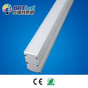 Wholesale guide rail: High Quality IP40 Triangle LED Linear Guide Rail Installed On the Ground