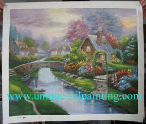 Wholesale paint: Oil Painting, Thomas Scenery Oil Painting, Landscape Oil Painting