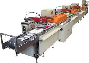 Wholesale care label: Multi-Color Silk Screen Satin Ribbon Care Label Printing Machine