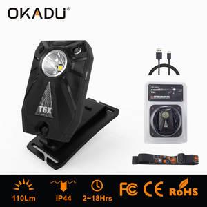 Wholesale bateries: USB Charging LED Headlight Built-in Batery Sensor LED Headlamp Wrist Light