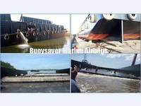 Sell Marine Rubber Air Bags for Barge Vessel Launching in Indonesia PMG Shipyard