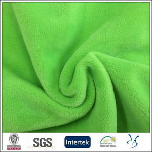 Wholesale microfiber: 100 Polyester Microfiber Velour Soft Fabric for Sofa Chair Cushion Cover