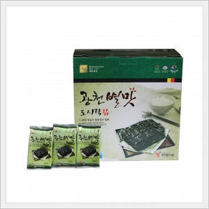 Wholesale seaweed wrapping: Lunchbox Laver in 12bags or 16 Bags (In A Bundle Wrapping)