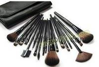 Sell wholesale mac 18pcs pieces sets cosmetic make up brush sets accept paypal