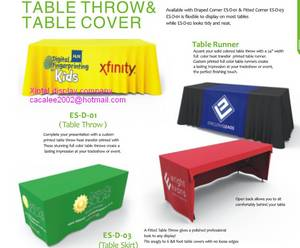 Wholesale table cover: Promotion Table with Lycra Cover