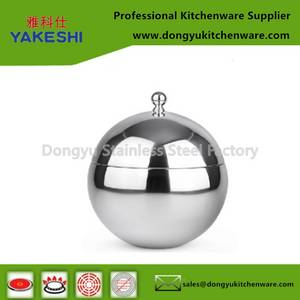Wholesale Ice Buckets: Mirror Polished Double Wall Stainless Steel Ice Bucket