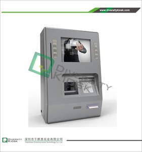 Wholesale payment kiosks: Wall Mount Payment Kiosk with Functional Keybar