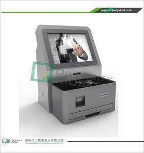 Wholesale digital barcode scanner: Supermarket Compact Counter Top Self-checkout Kiosk