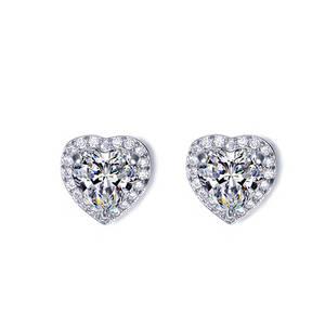 Wholesale Earrings: CCH Heart Stud Earring